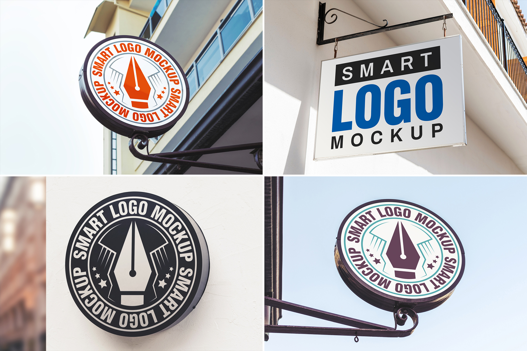 100 Logo Mockups Bundle Vol.3 example image 19
