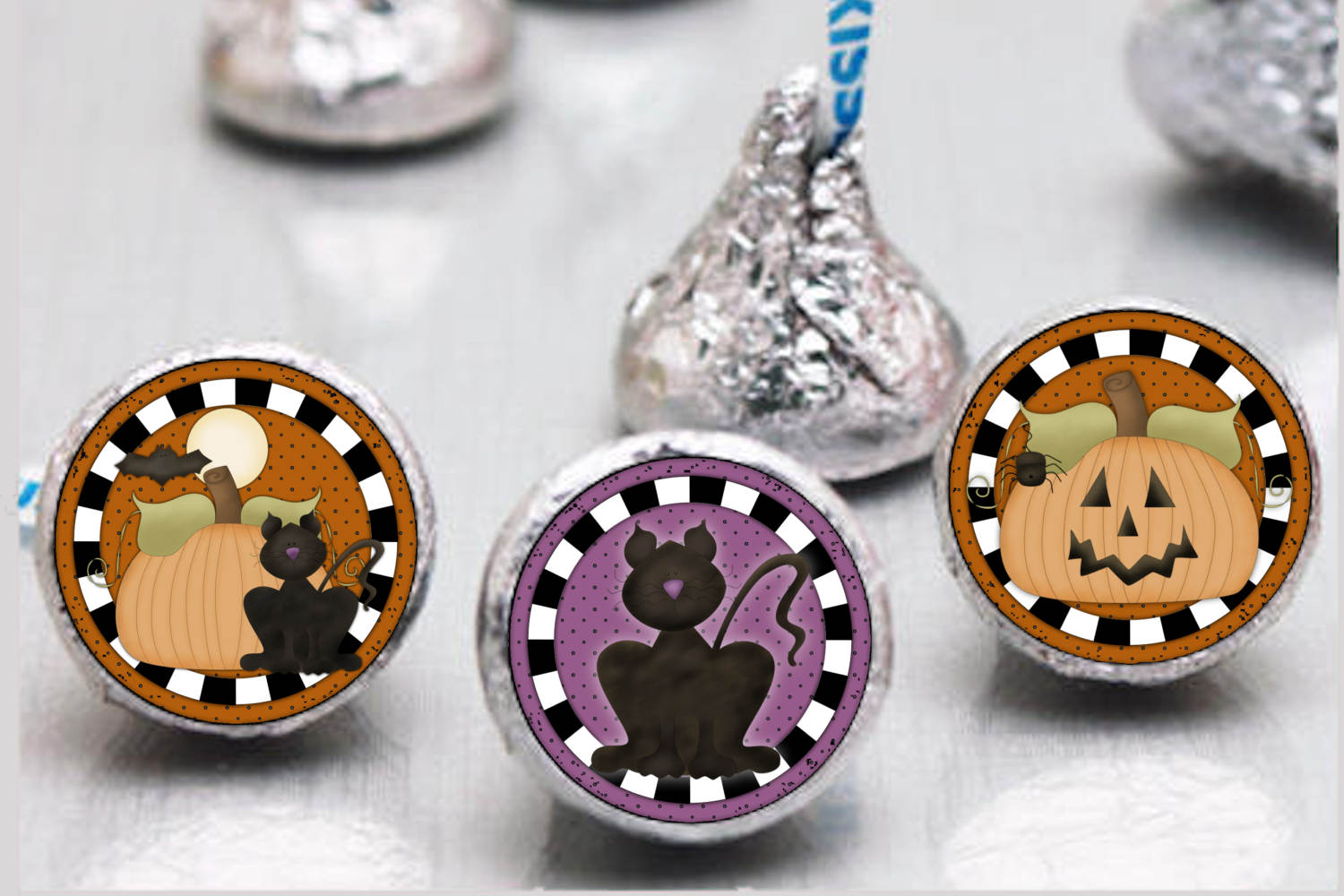 Primsy Halloween Bottlecap Images, Labels example image 2