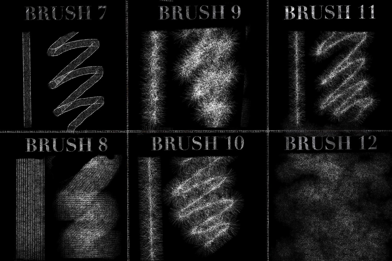 Glitter Brushes for Procreate example image 4