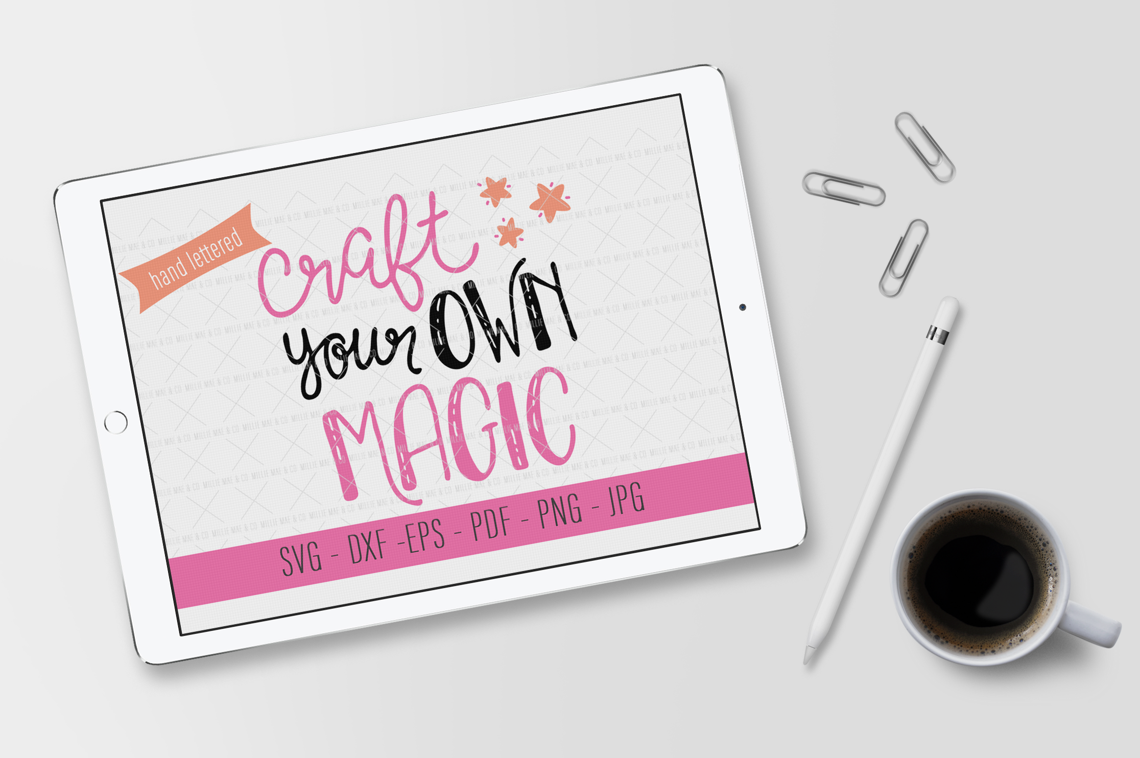 Craft Your Own Magic - SVG Cut File for Cricut and More example image 3