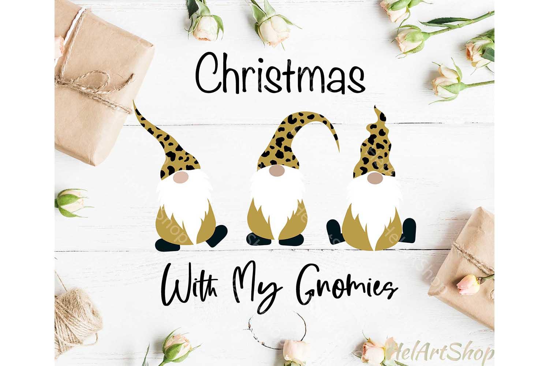 Christmas Gnomes Svg Gnome Svg