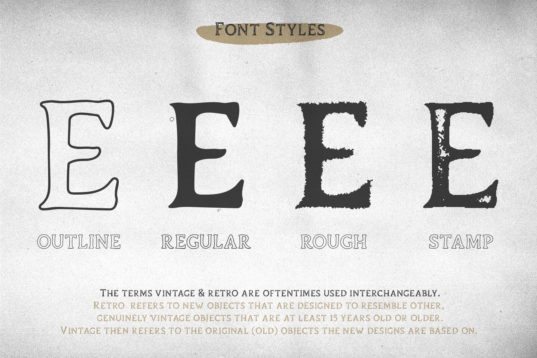 Duskey - Vintage Serif Font Bonus Extras example image 2