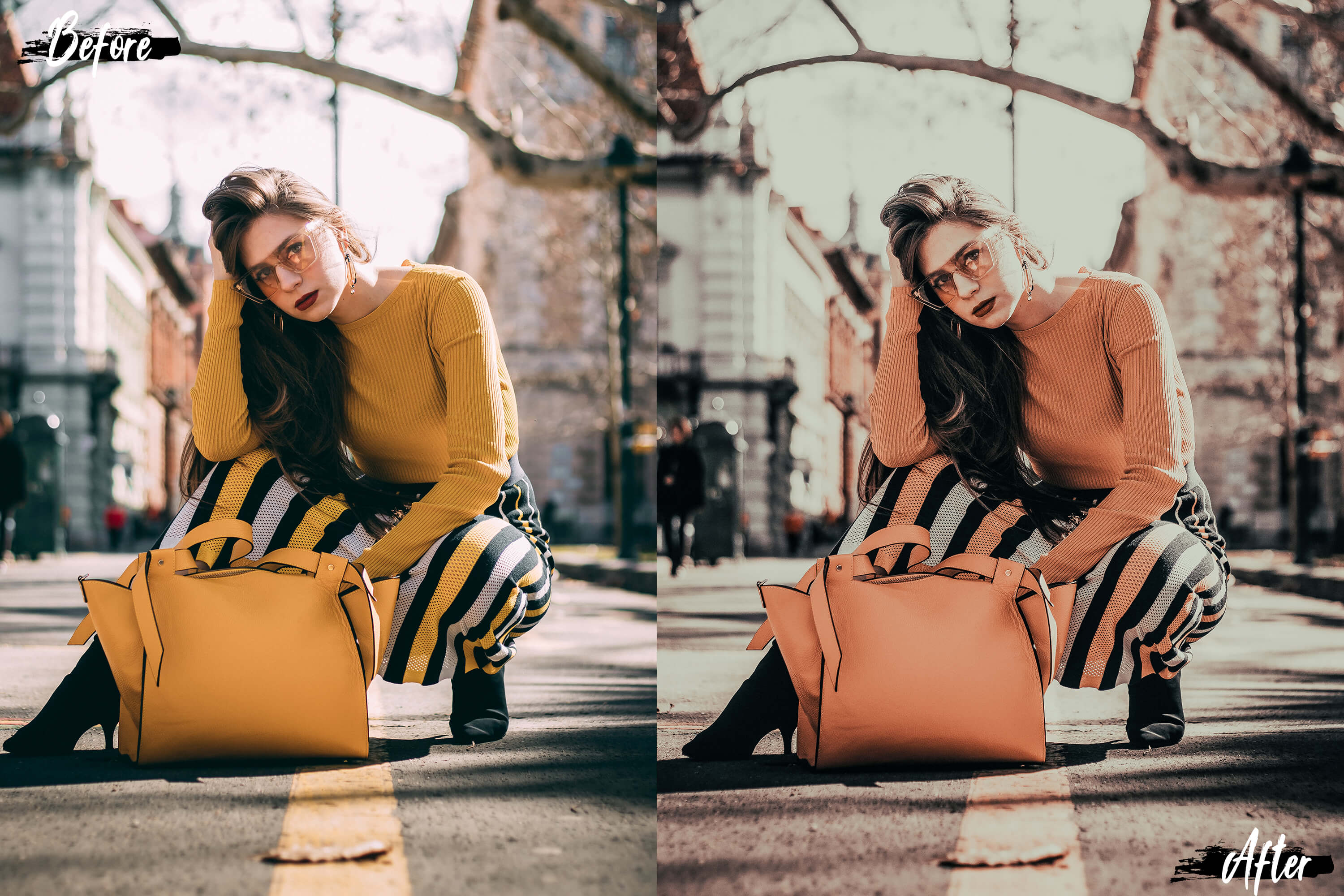 5 Dreamy Autumn Mobile Lightroom Presets, fall filter Adobe example image 8