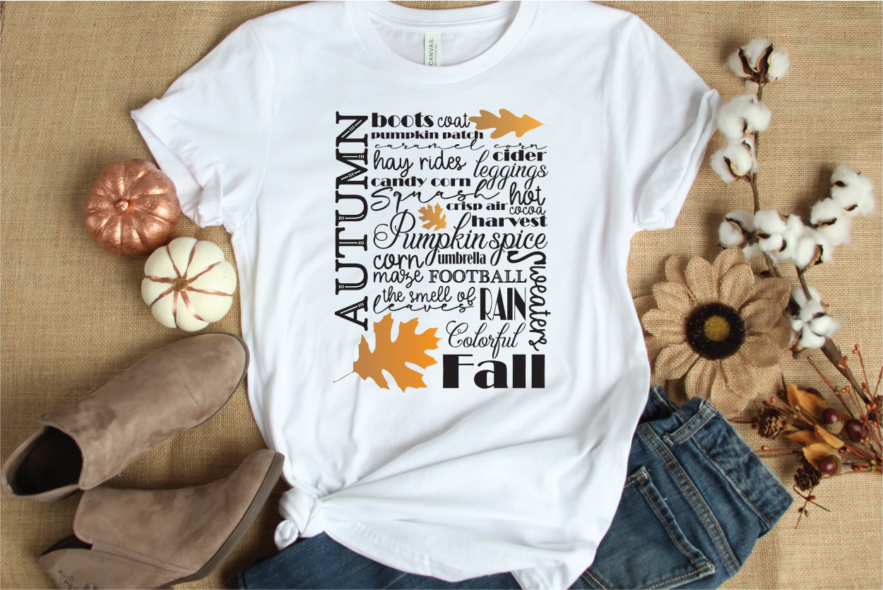 Autumn / Fall - Subway Sign Art Print and Design Set example image 2