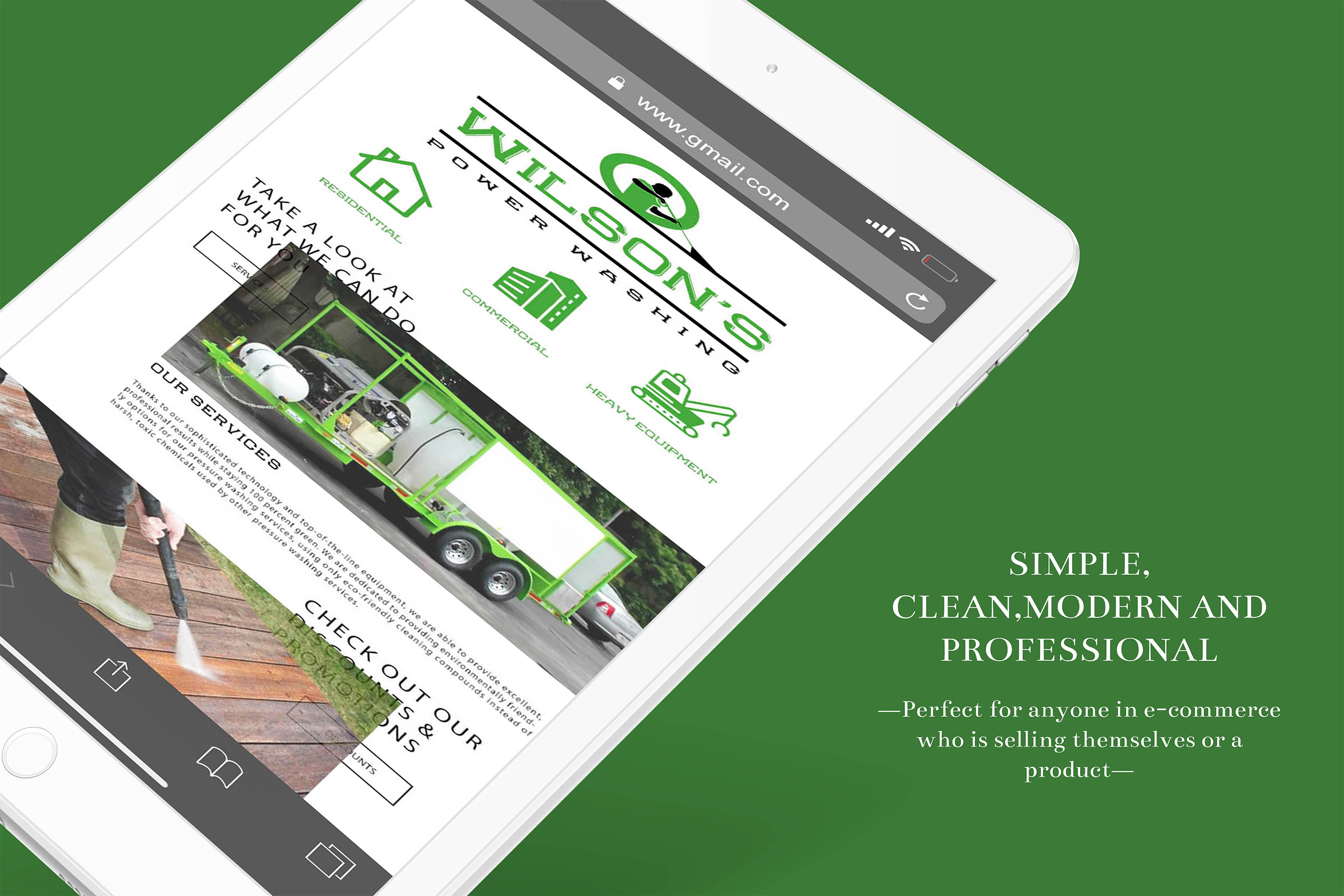 Newsletter Template/ Email Template/ Newsletter Download example image 1