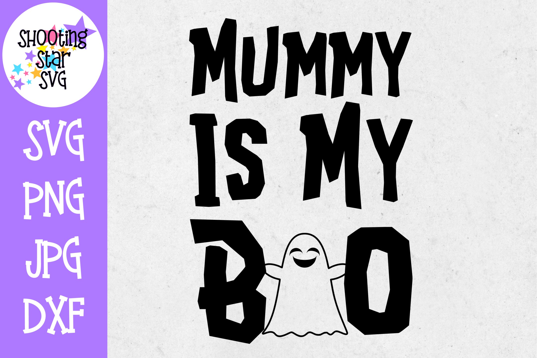 Mummy is my boo SVG - Little Kid SVG - Halloween SVG example image 1