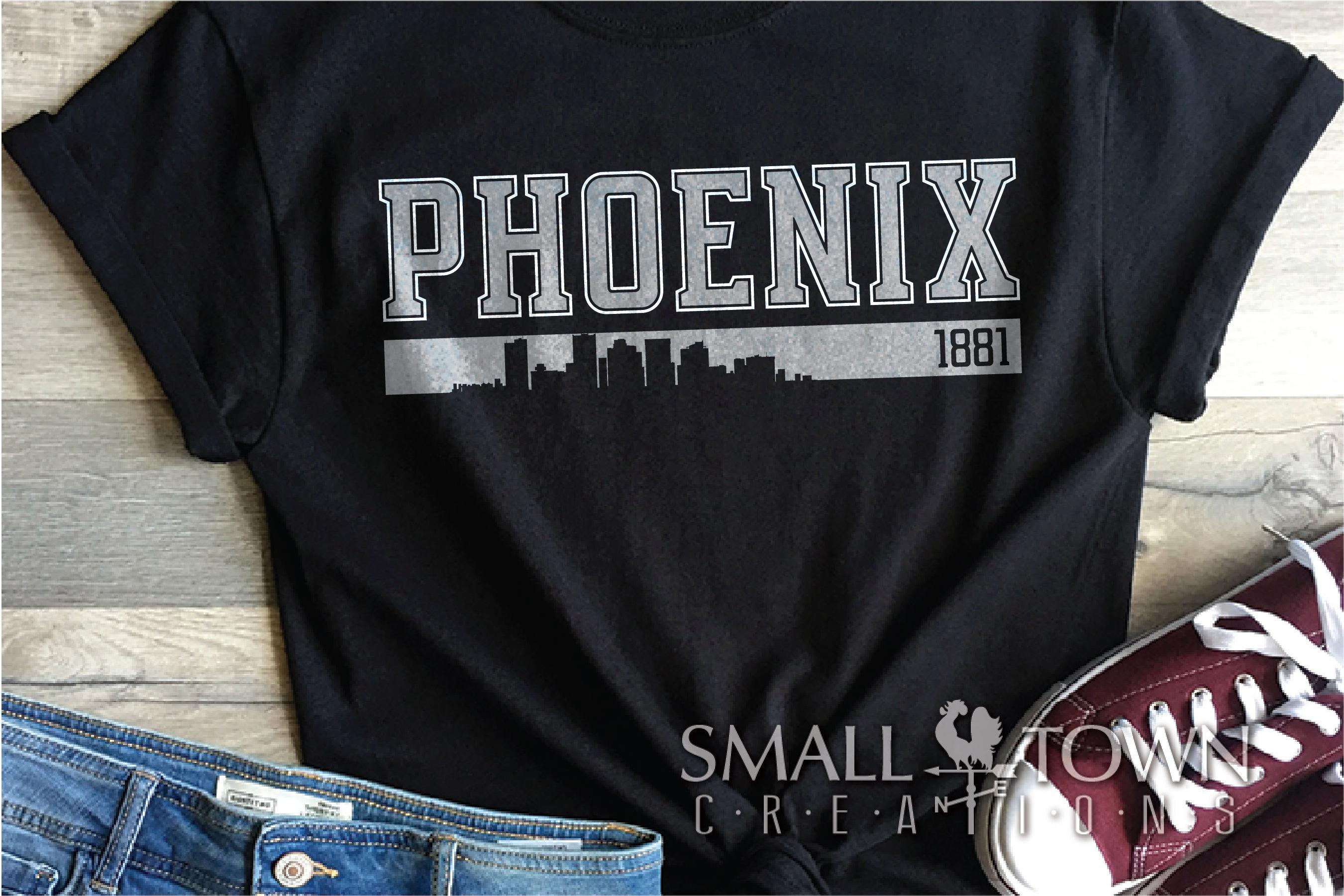Phoenix, God Enriches - slogan, Arizona, PRINT, CUT & DESIGN example image 8