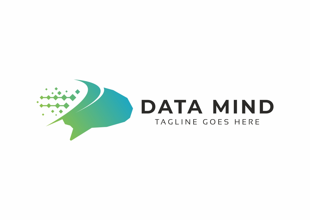 Data Mind Logo example image 3
