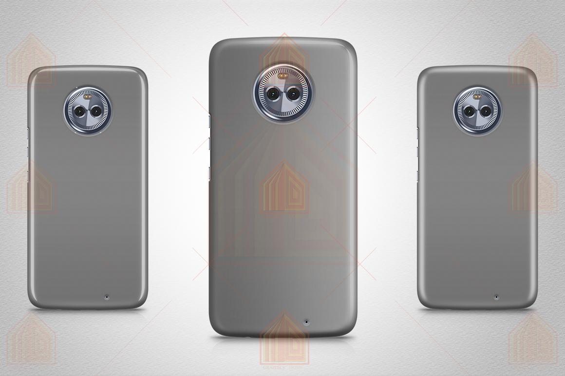 MOTO X4 3D Case Design Mockup Back View example image 4