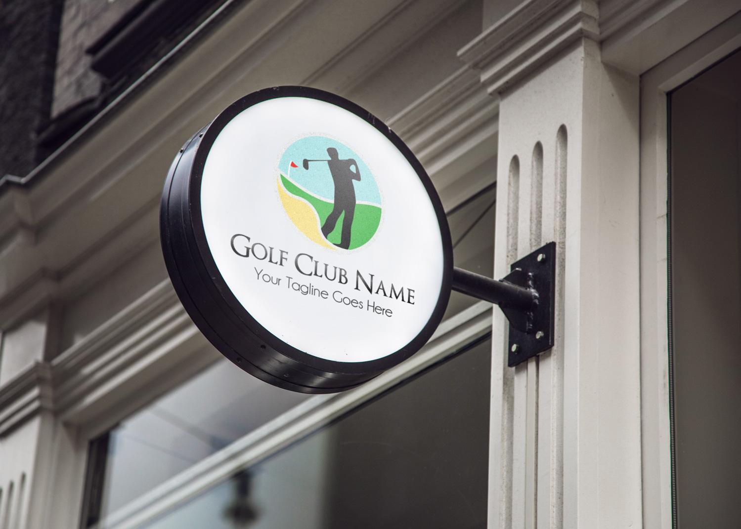 Golf Club Logo Template example image 2
