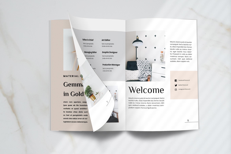 Futura - Interior Magazine Template example image 3