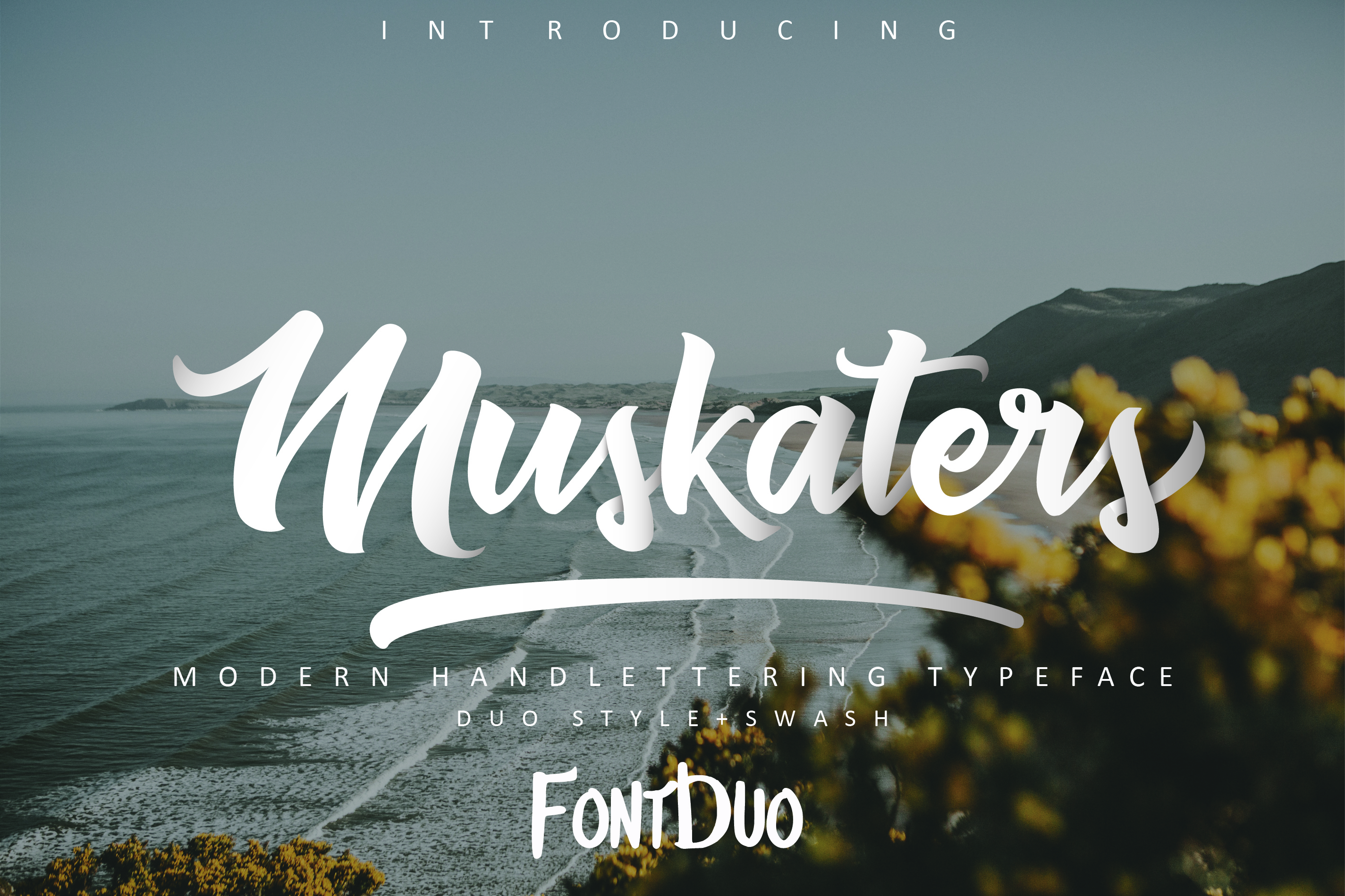 Muskaters. duo style + font bonus example image 1