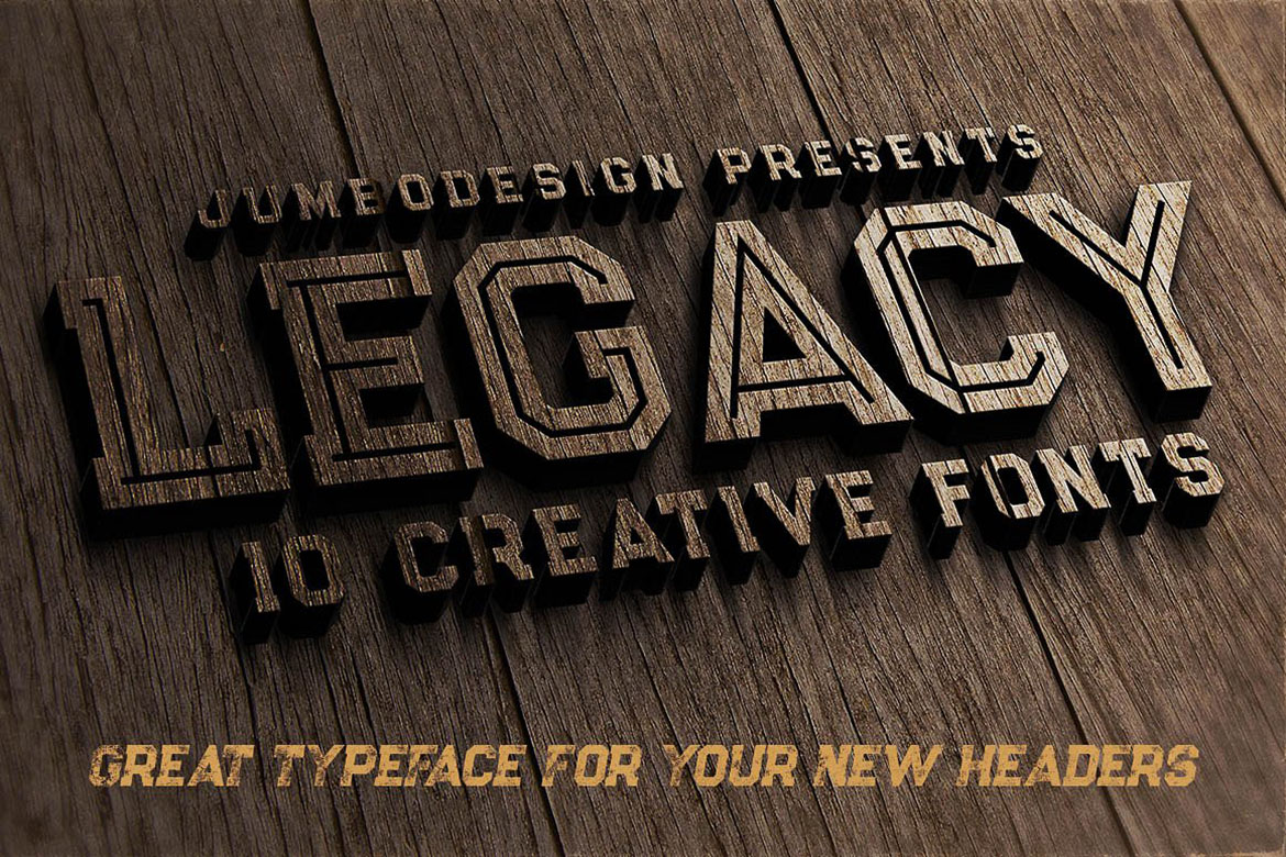 Legacy - Vintage Style Font example image 4