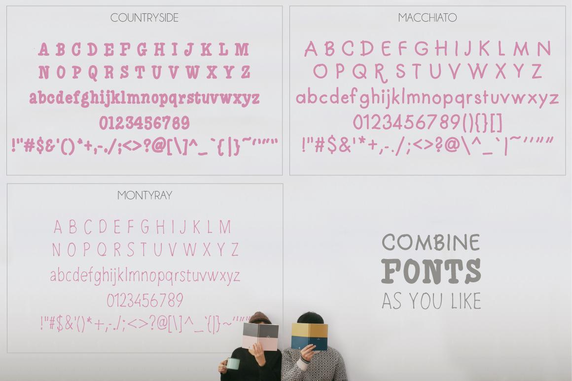 Macchiato [3 Fonts] example image 4