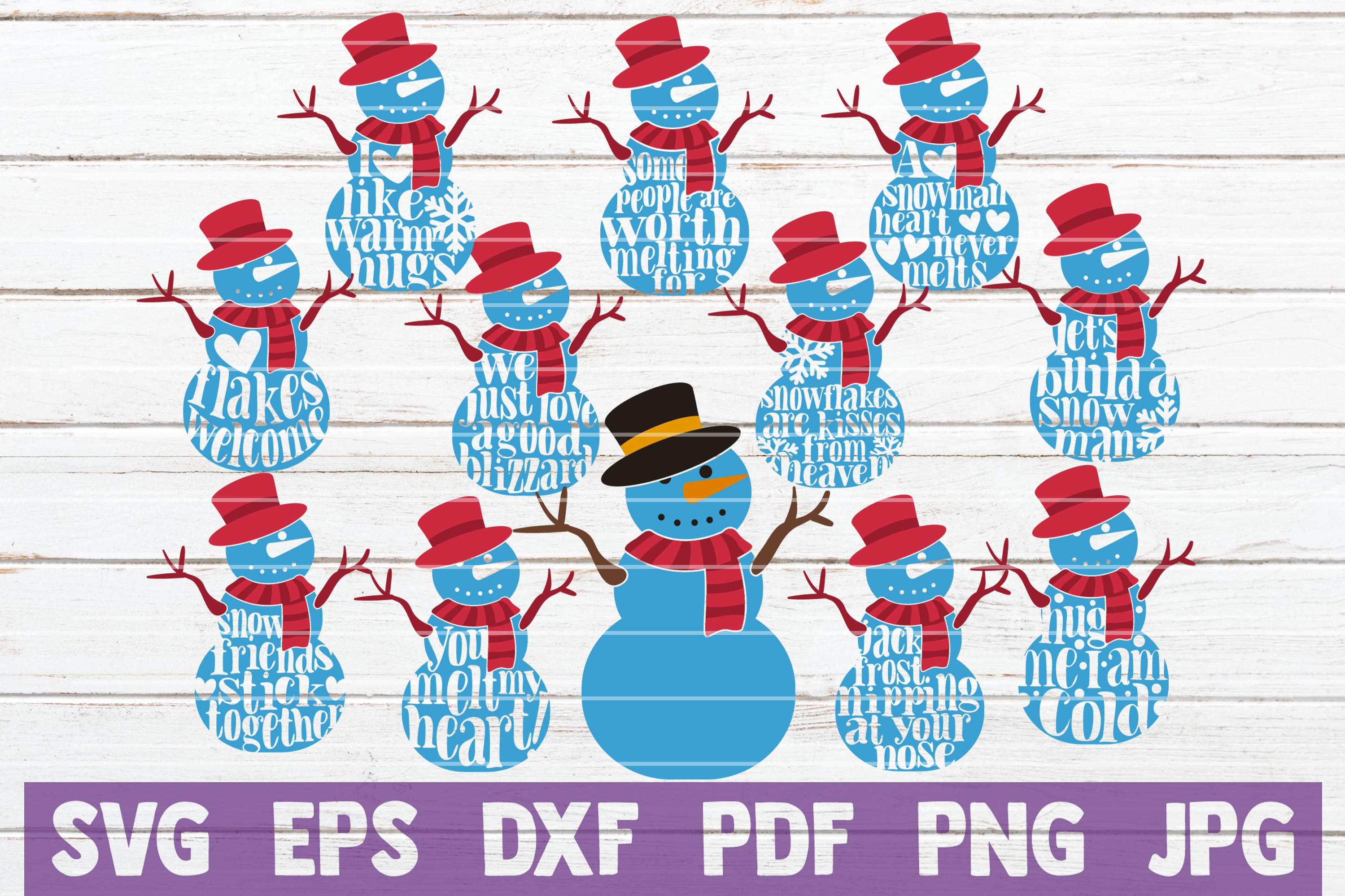 HUGE Christmas SVG Bundle |100 Holiday Designs SVG Cut Files example image 5