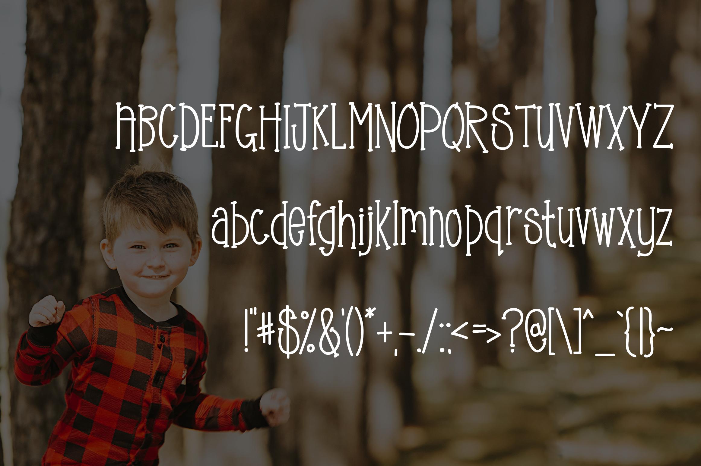 Pajama Jam a Fun Serif Font example image 2