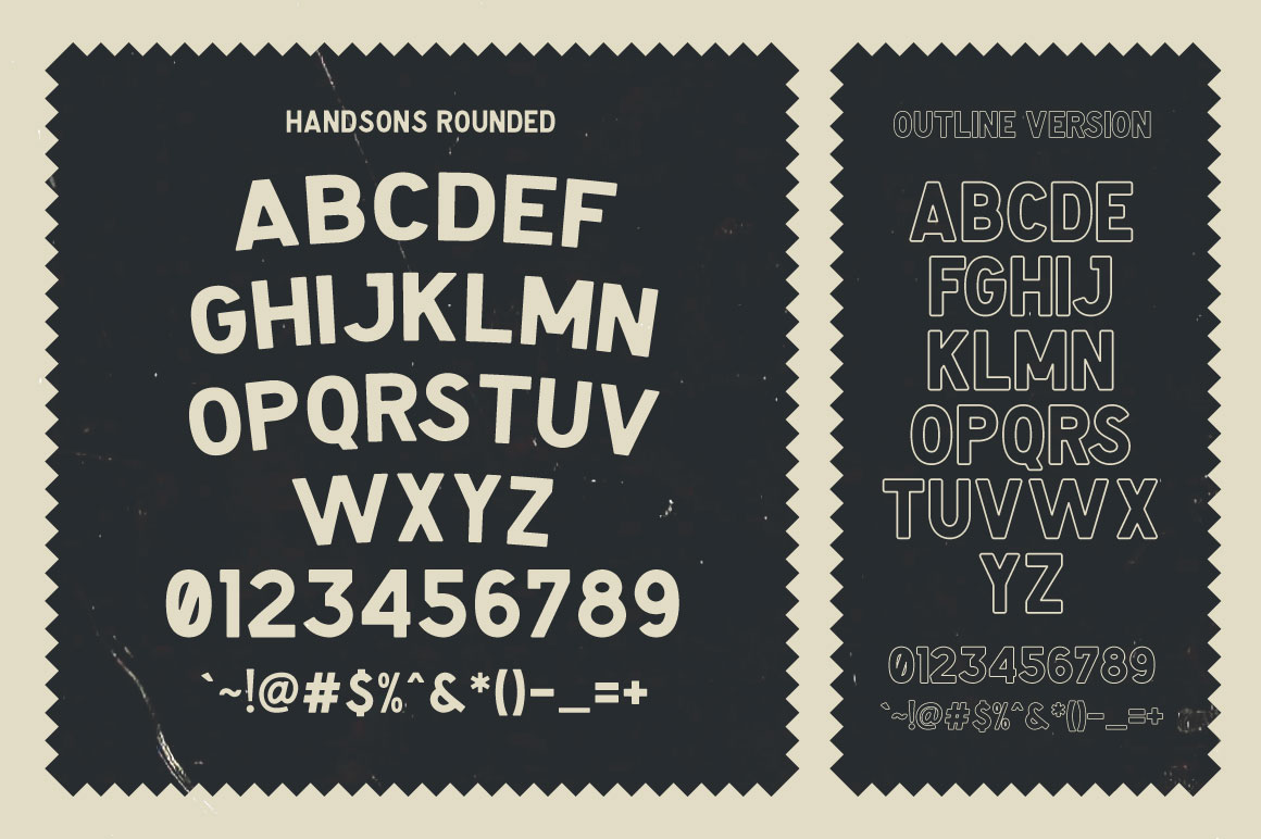 Handsons Typeface example image 5