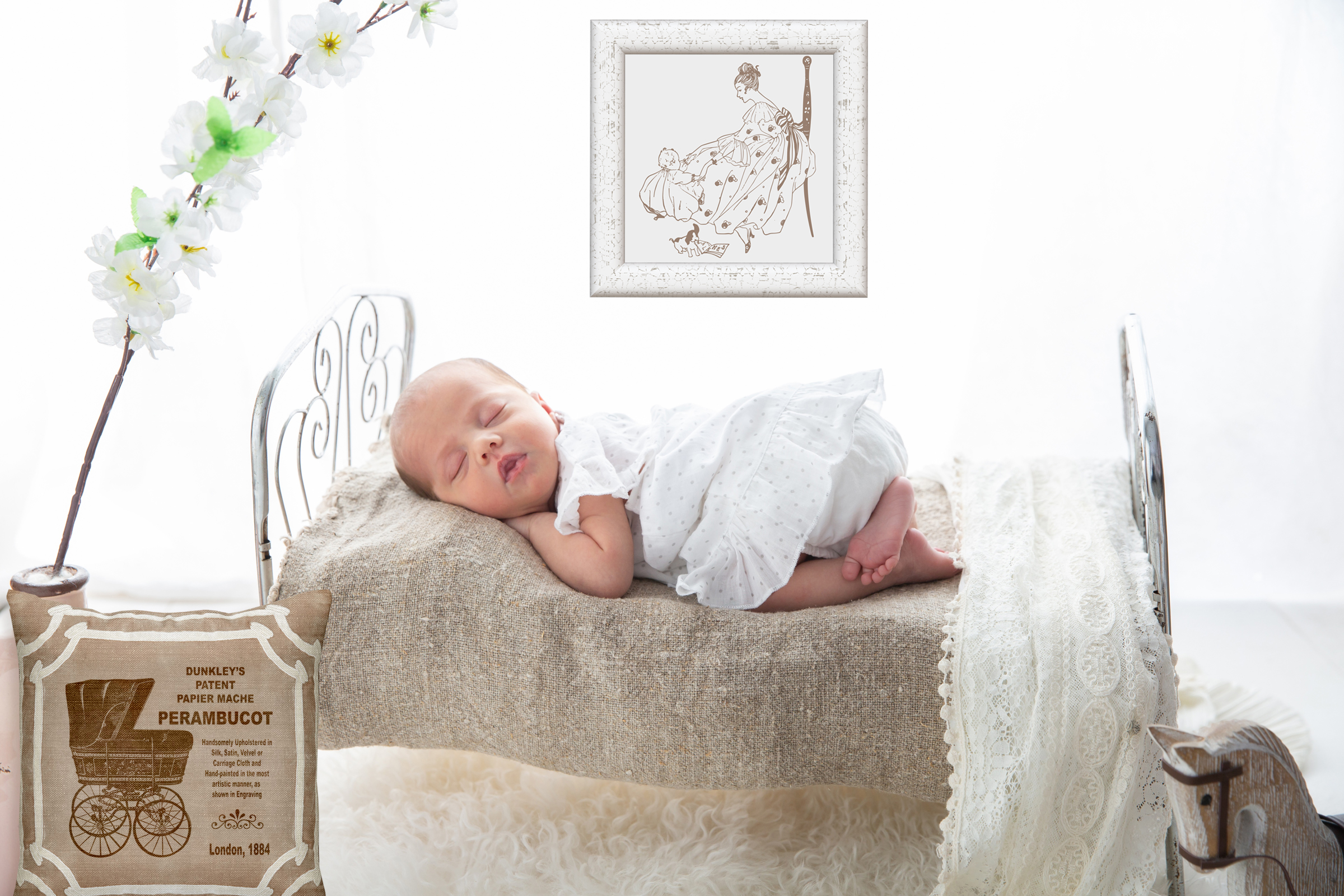 Vintage Babies, Toddles & Moms AI EPS PNG example image 6