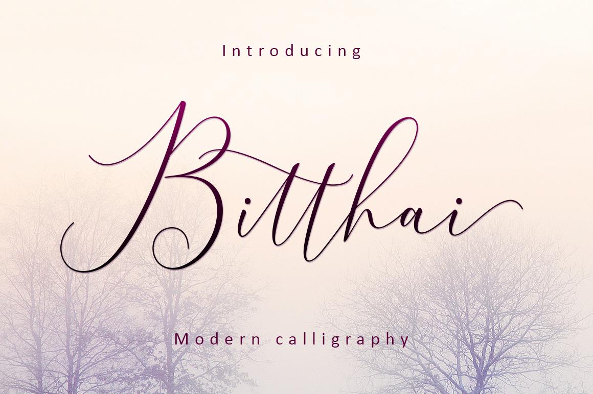 Bitthai Script example image 1