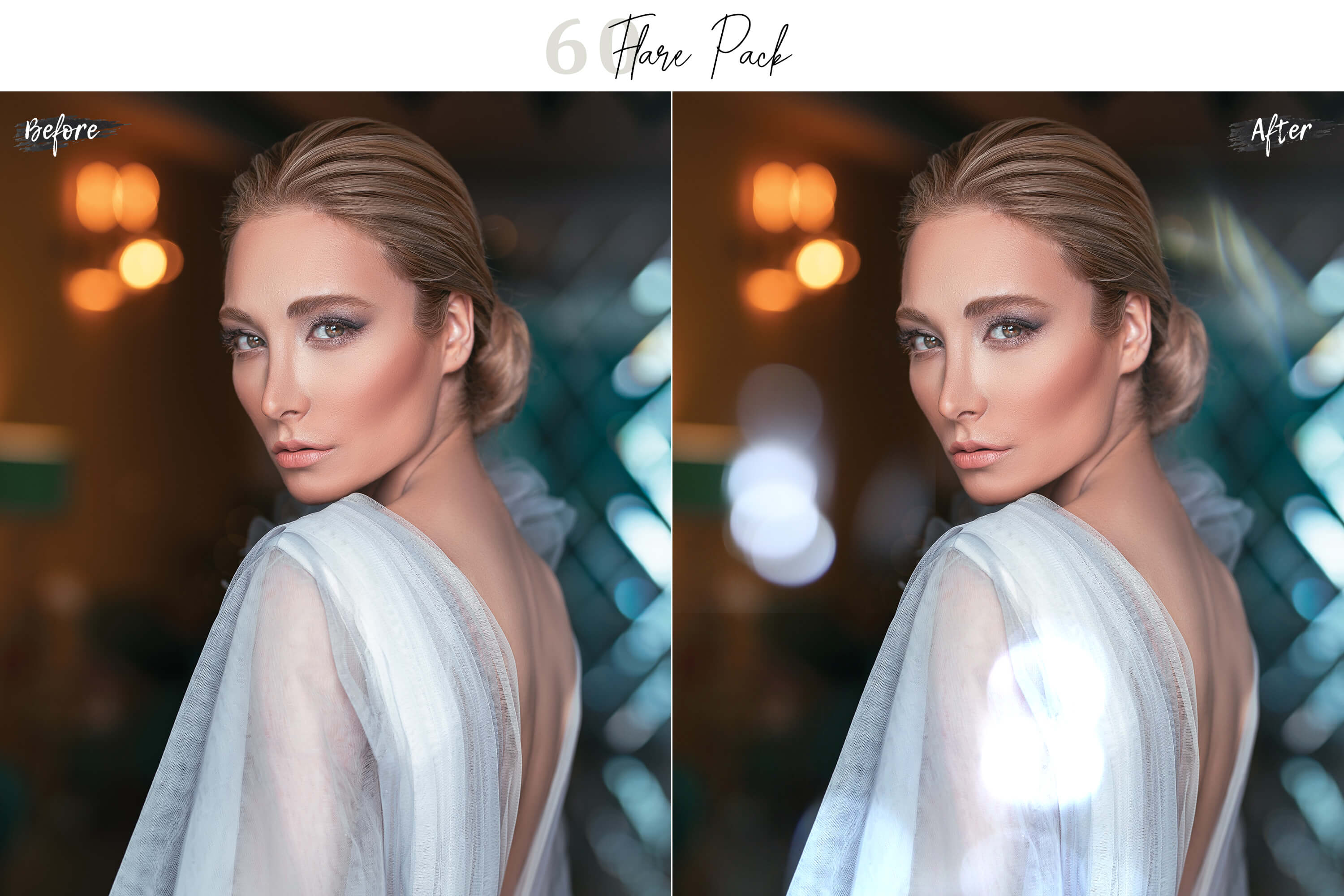 60 Flare Pack 03 lights Effect Photo Overlays example image 8