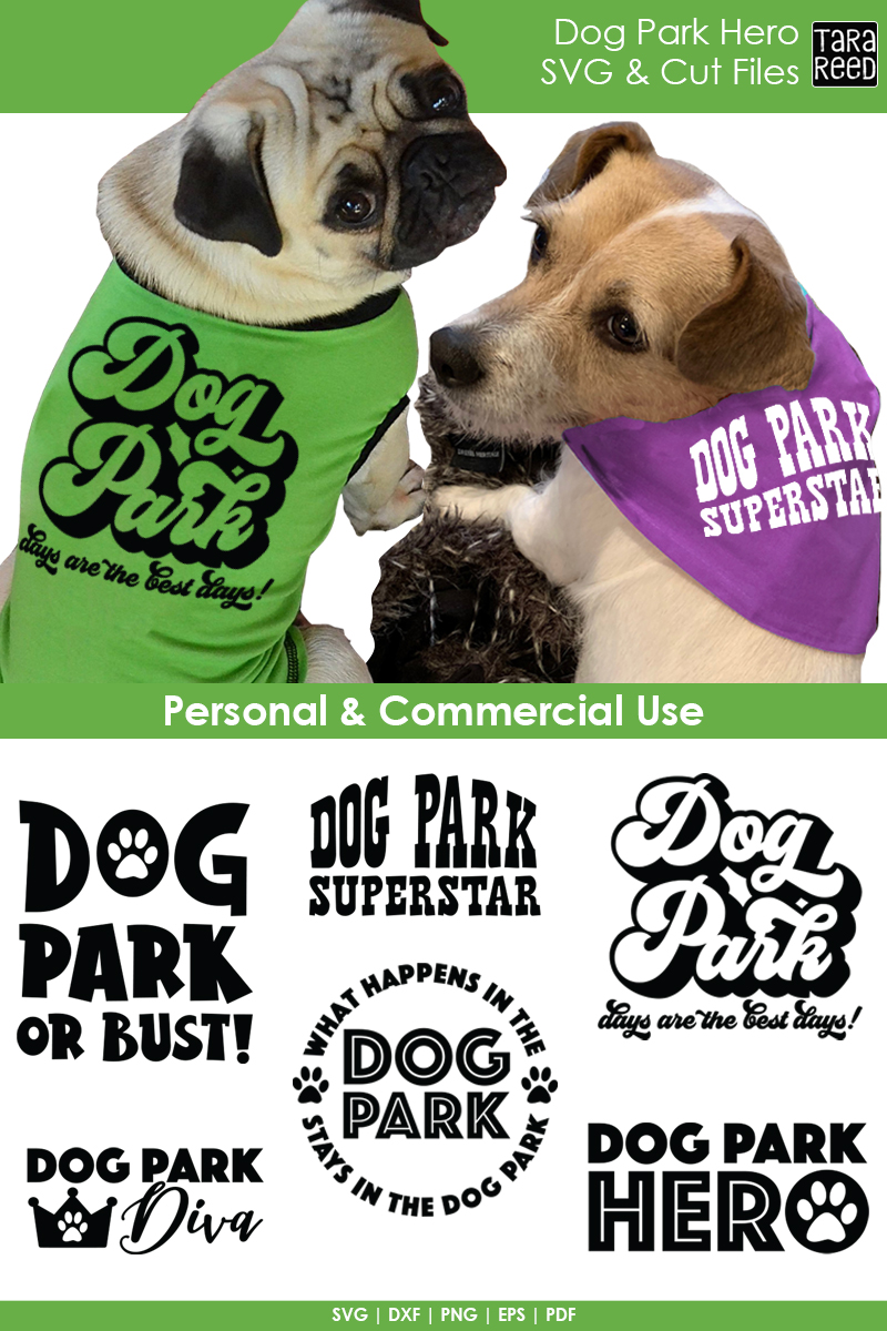 Dog Park Hero - Dog SVG and Cut Files for Crafters example image 2