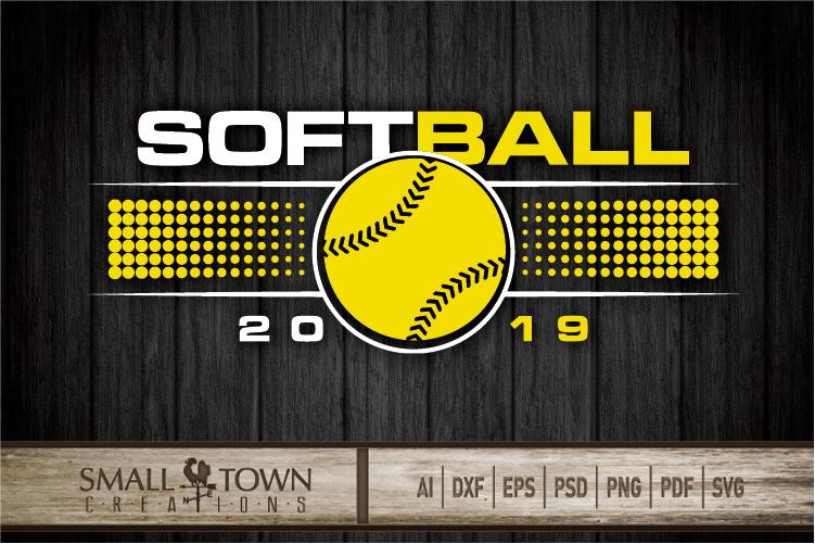 Softball, Ball sport, Sports, Team logo, PRINT, CUT & DESIGN example image 4