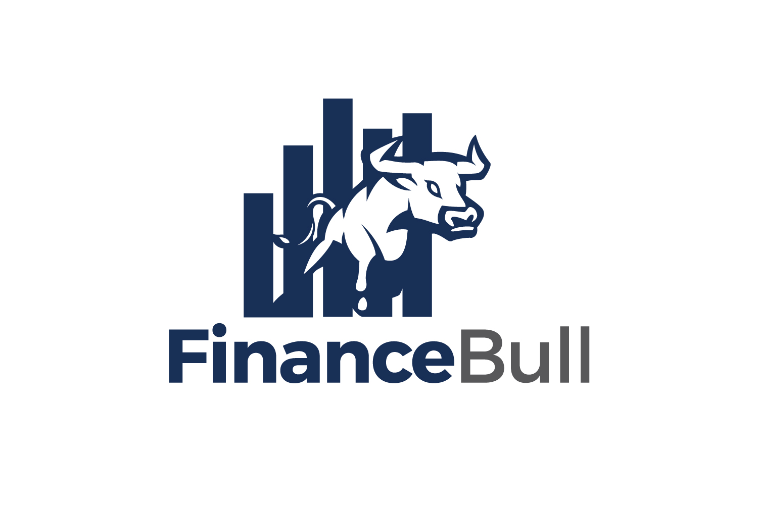 Finance Bull Logo example image 1
