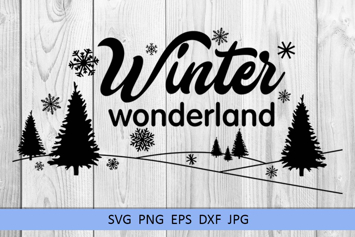 Christmas svg Winter wonderland svg Winter svg Snowflake svg example image 6