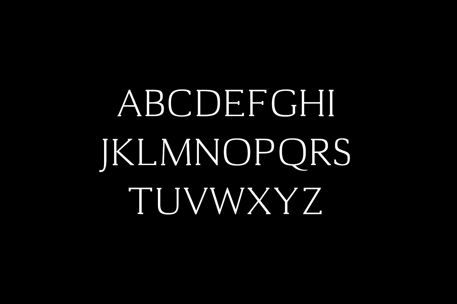Cheston Slab Serif 5 Font Family example image 2