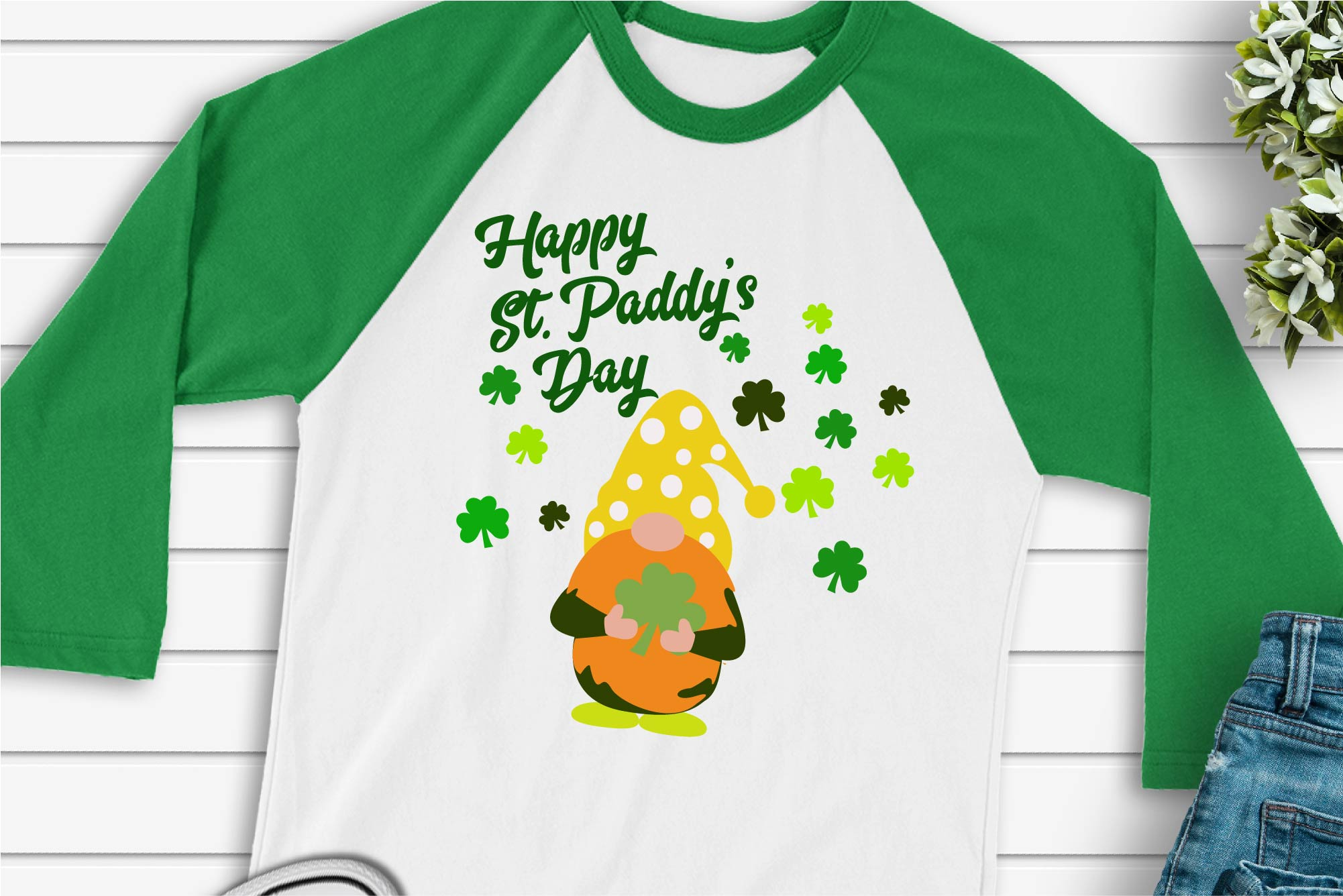 Download St. Patrick's Day SVG Happy St Paddy's Day Gnome ...