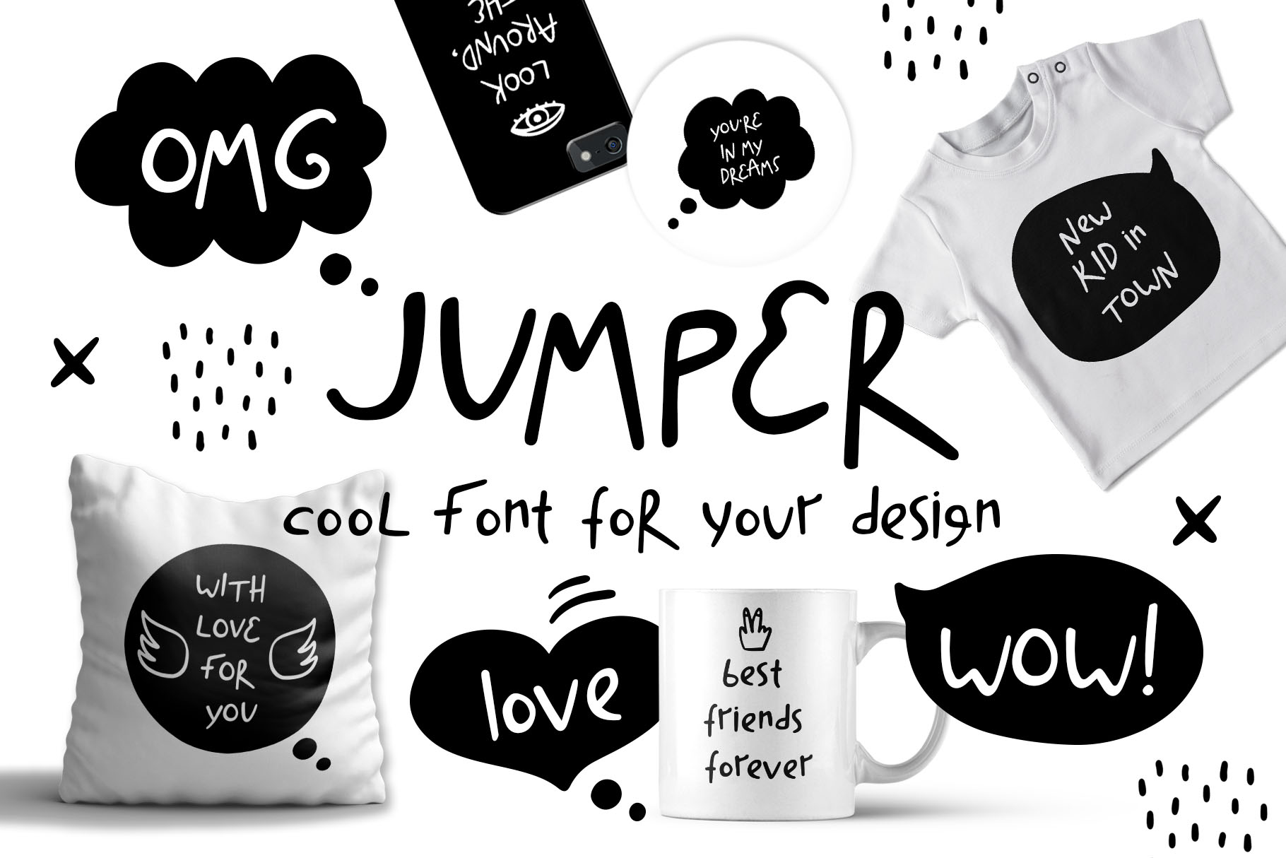 Jumper - Cool Font example image 1