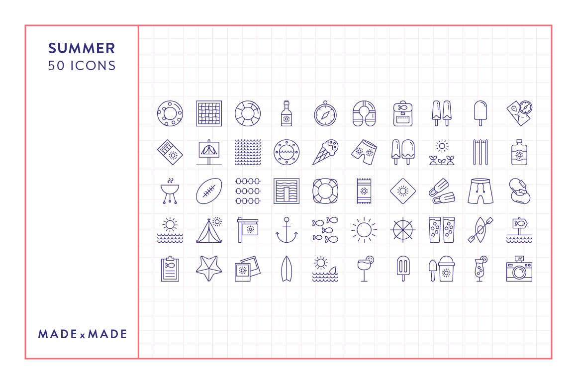 Line Icons - 3 in 1 Collections Bundle example image 10