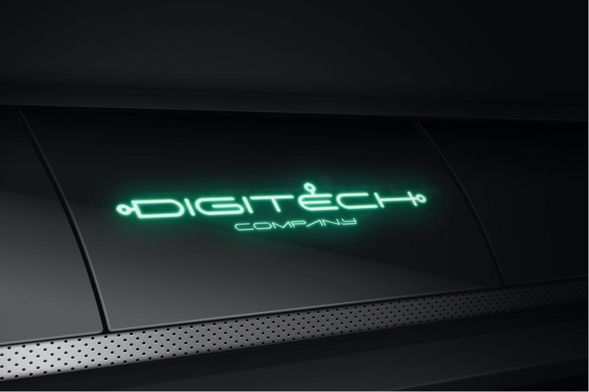 Digitechno - Futuristic Font example image 2