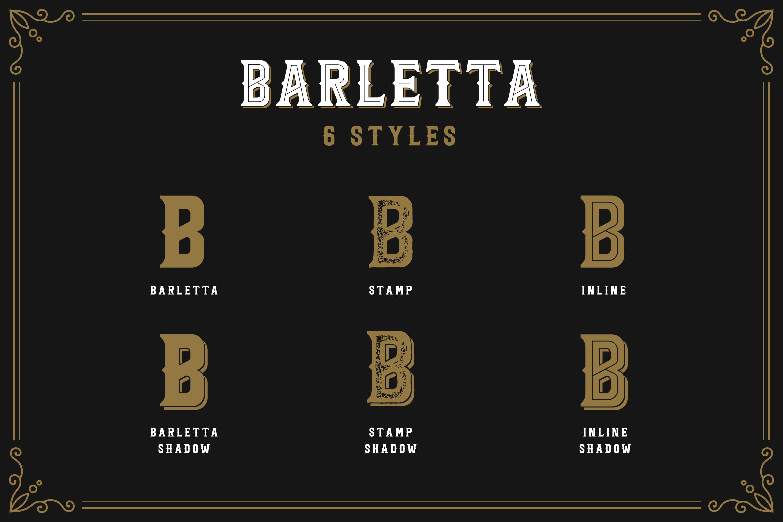 Barletta - Vintage Serif Font example image 2