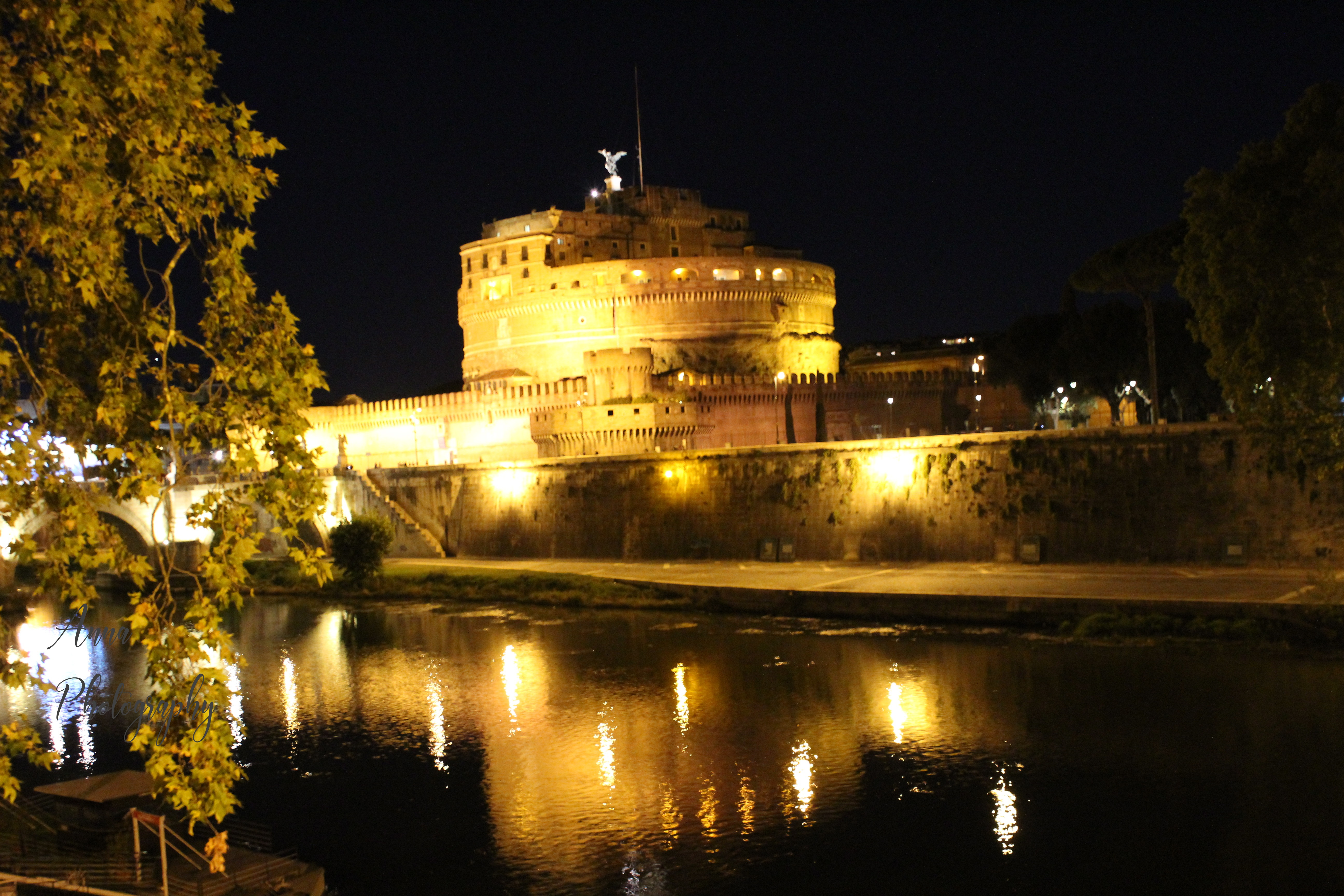 Castel Sant'Angelo at Night example image 1