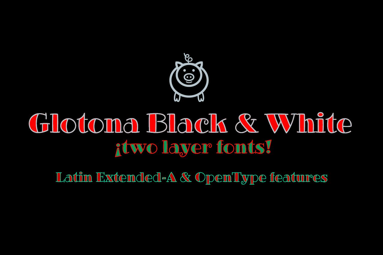 Glotona's Family Fonts example image 4
