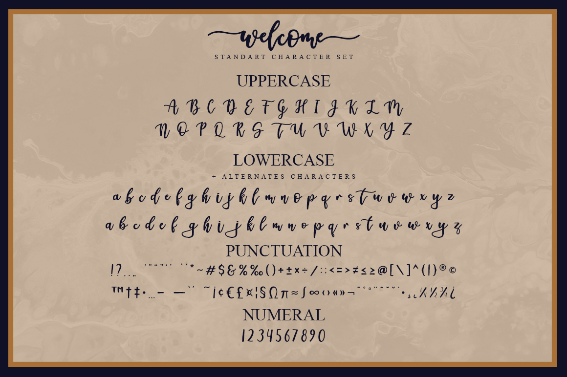 Welcome Handlettering Font example image 6