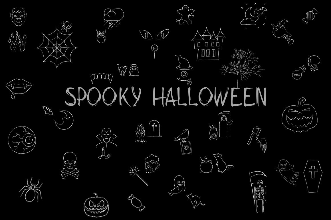 Spooky Halloween Bundle example image 7