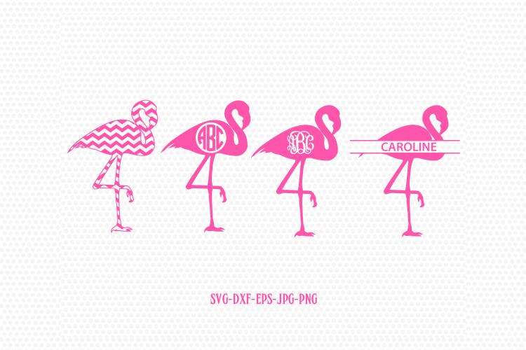 Download Flamingo monogram frame-Flamingo svg, pink Flamingo ...