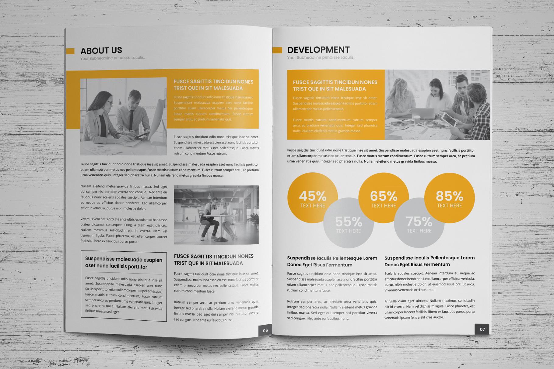 Company Profile Brochure v7 example image 4