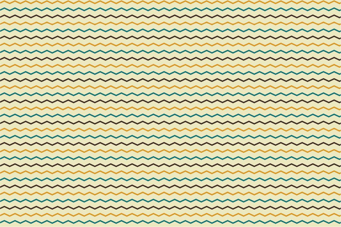 Set of Retro Seamless Patterns example image 4
