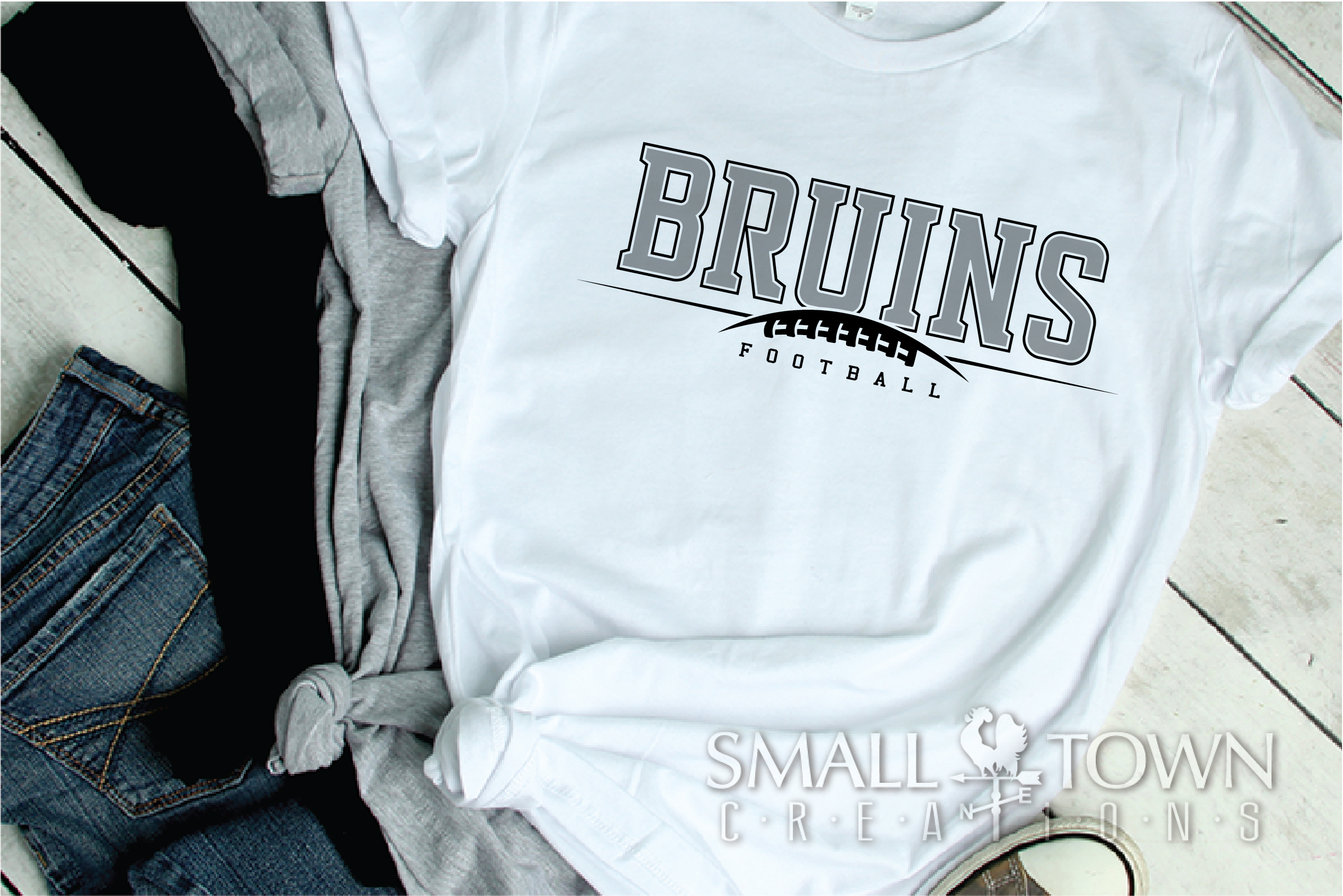 Bruin, Bruin Football, Bruin mascot, PRINT, CUT, DESIGN example image 2