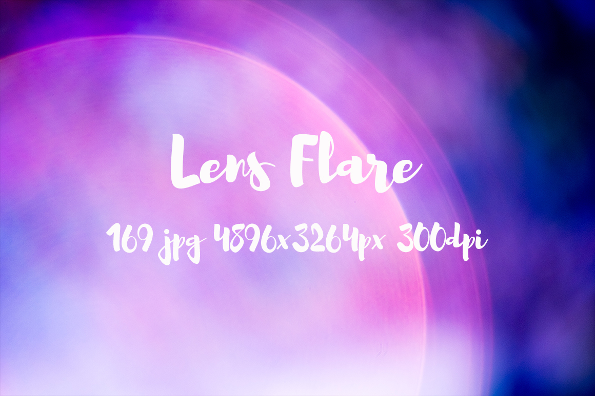 Lens Flare Pack example image 10