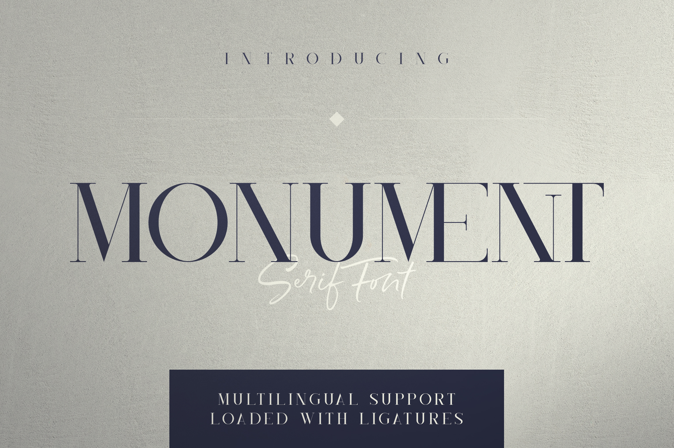Monument - All Caps Serif Font example image 1