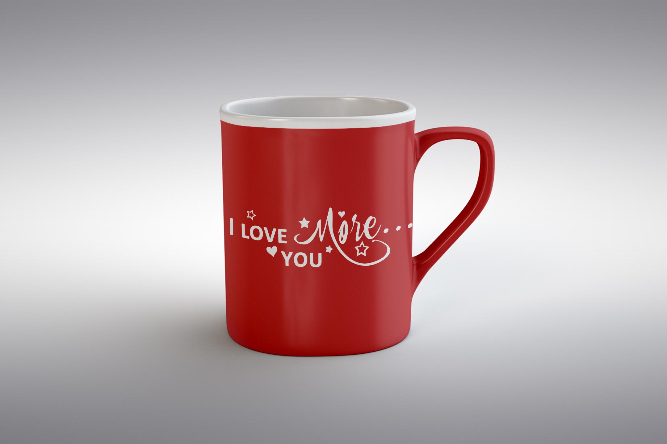 I Love you more svg Valentine svg Love heart svg example image 2