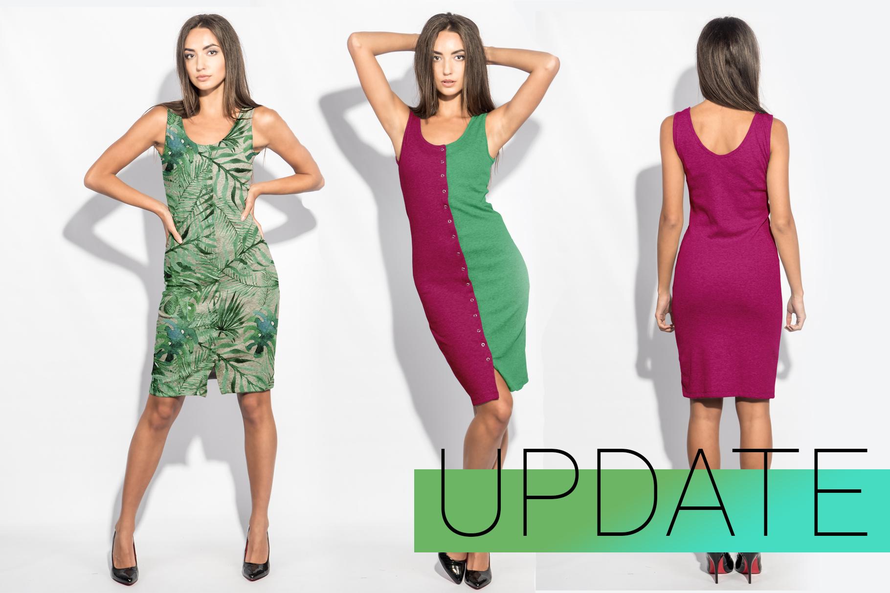 Woman's Dress Mockup Set example image 6