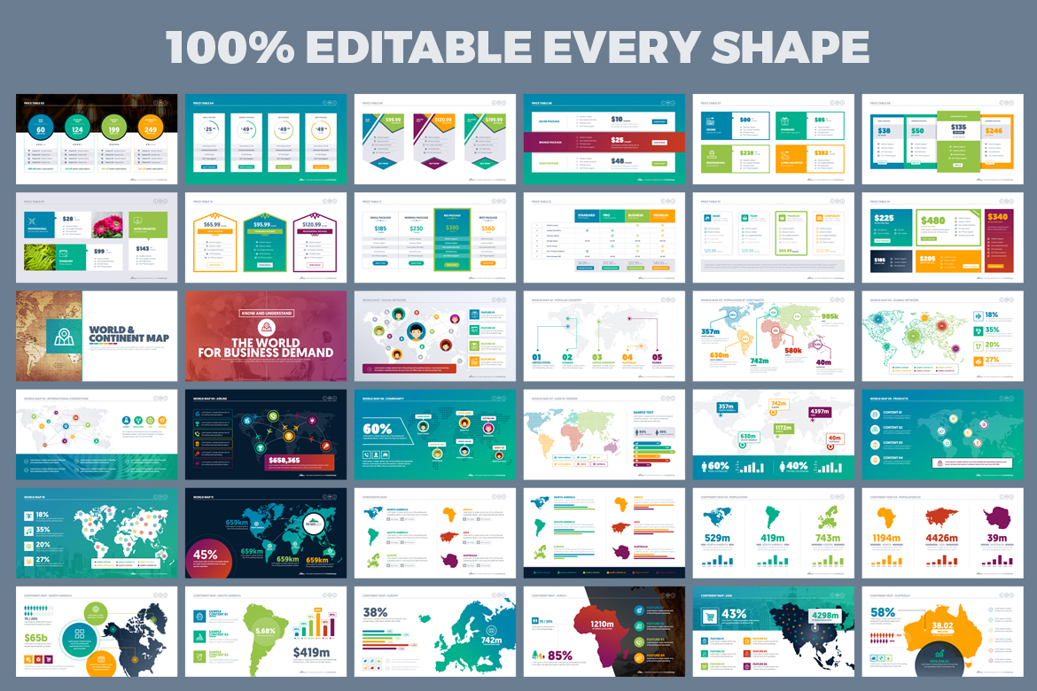 PowerPoint Presentation Template example image 10