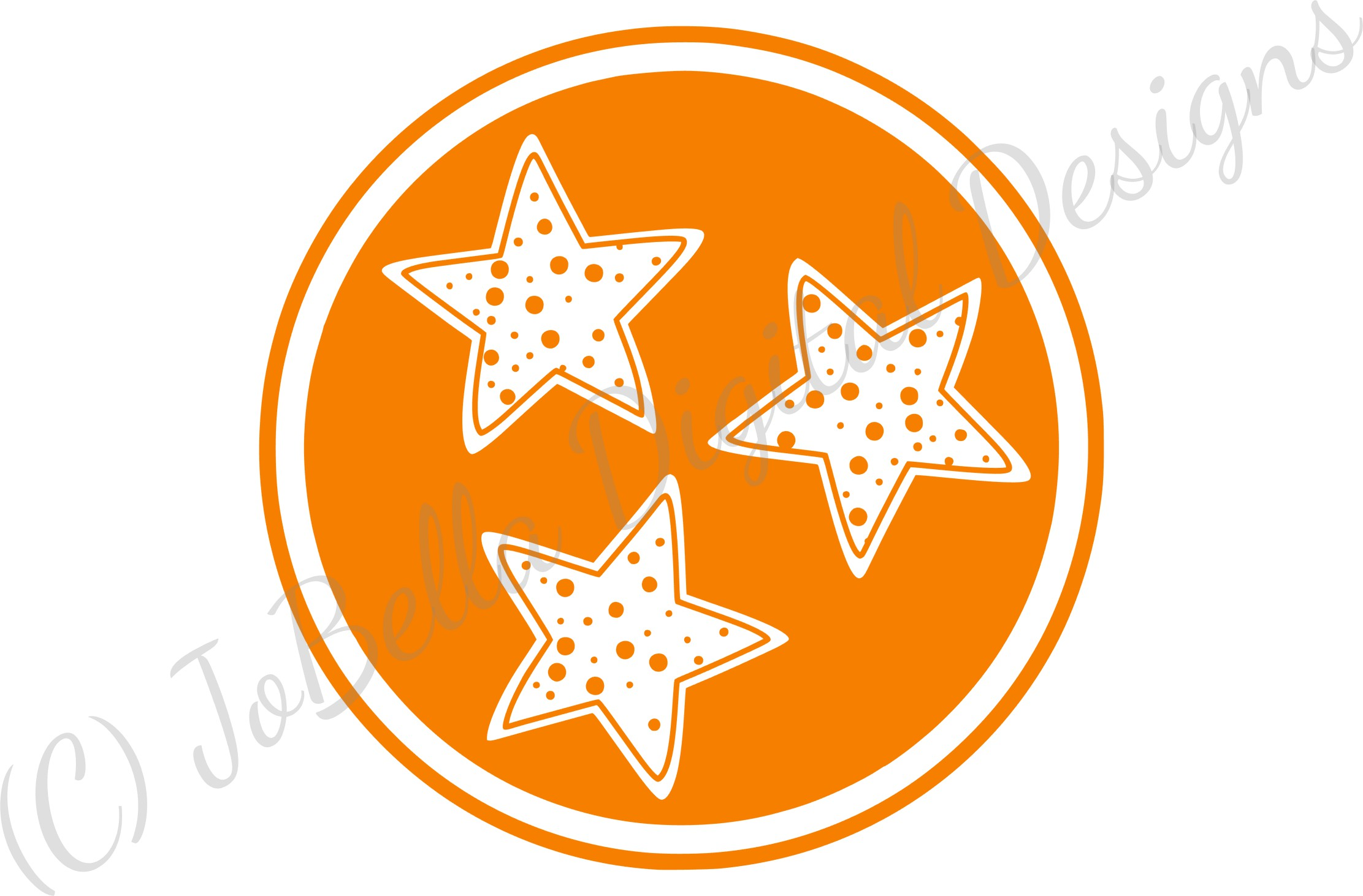 Polka Dot Tennessee TriStar SVG, Sublimation PNG & Printable example image 4