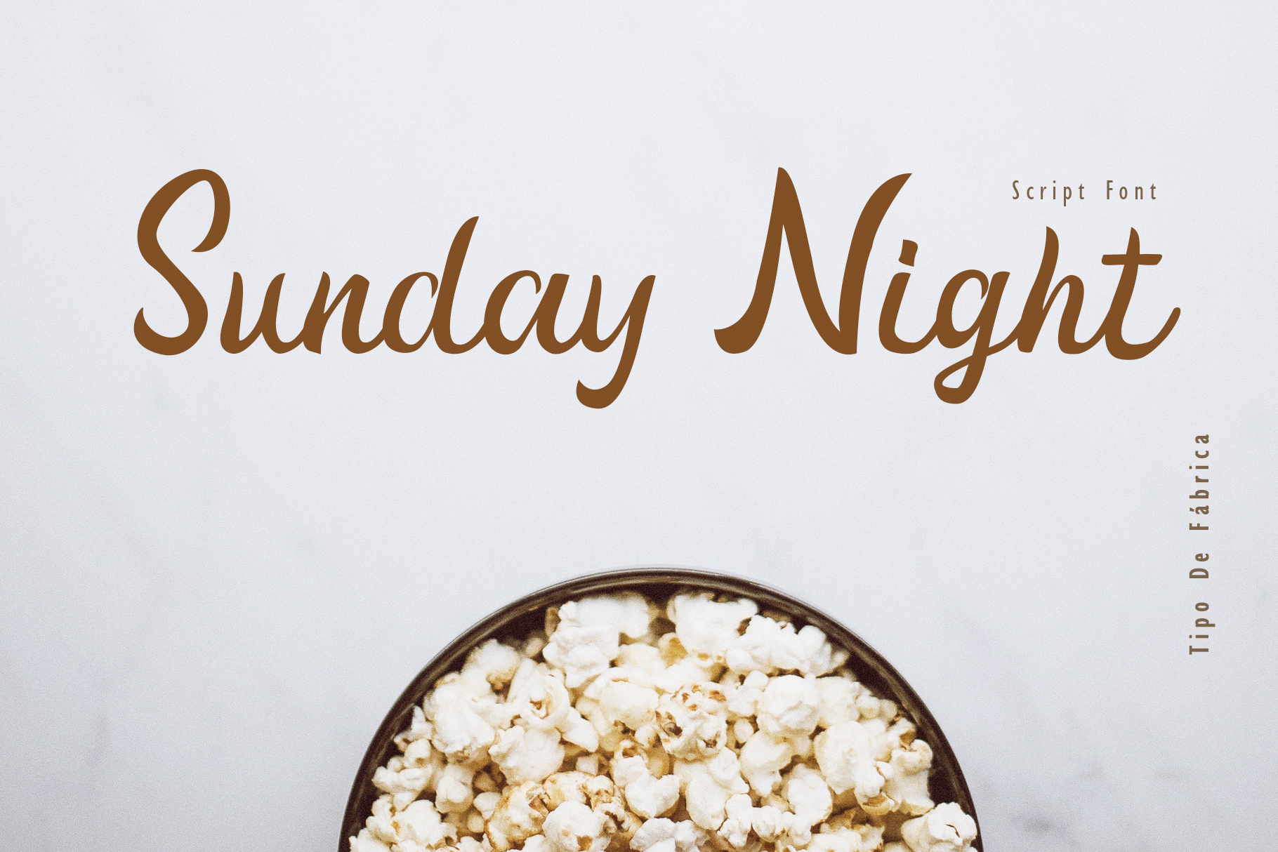 Sunday Night Script Font example image 1