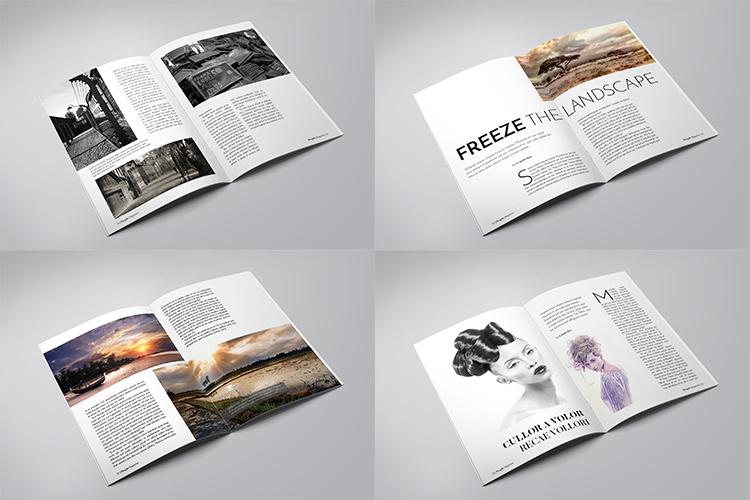 A5 Multipurpose Magazine Template example image 4